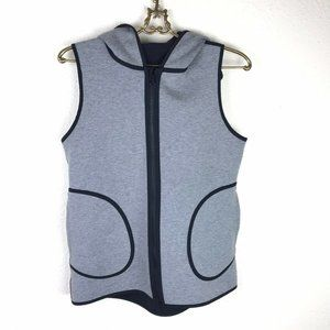 Lululemon Insculpt Vest Black Gray Reversible